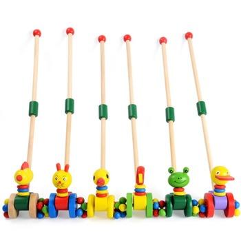 Dzieci drewniane Puzzle wózek Coagent dzieci zwierzęta kreskówkowe samochody zabawkowe dziecko śmieszne drewno Puzzle wózek na zakupy edukacja Puzzle zabawki tanie i dobre opinie CN (pochodzenie) Unisex 0-12 MIESIĘCY Drewna COMMON Geometryczny kształt NEW411057 Made in China