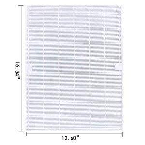 Image 3 - Piezas de purificador de aire, prefiltros de carbono y 1 pieza, filtro HEPA principal para Winix 115115 5300 5500 6300