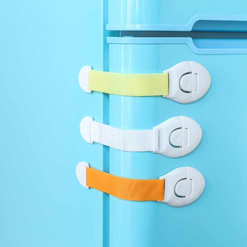 Child Safety Strap Locks Protection Of Children Locking Doors For Kids Safety Children Plastic Protection Safety Lock