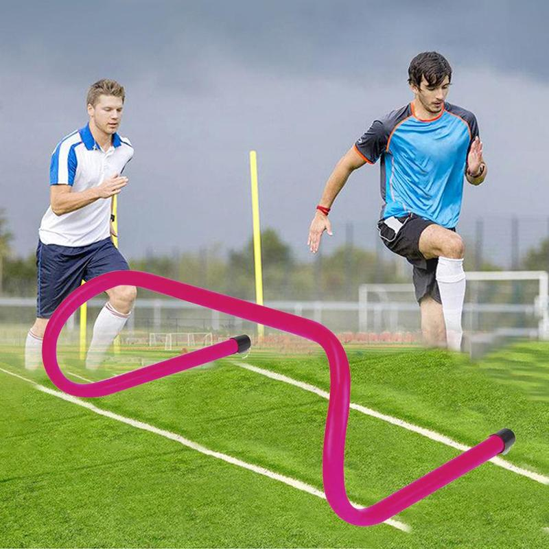 Outdoor Football Training Hurdles 15cm Movable Football Obstacle Frame Football Speed Agility Hurdle ABS Hurdle