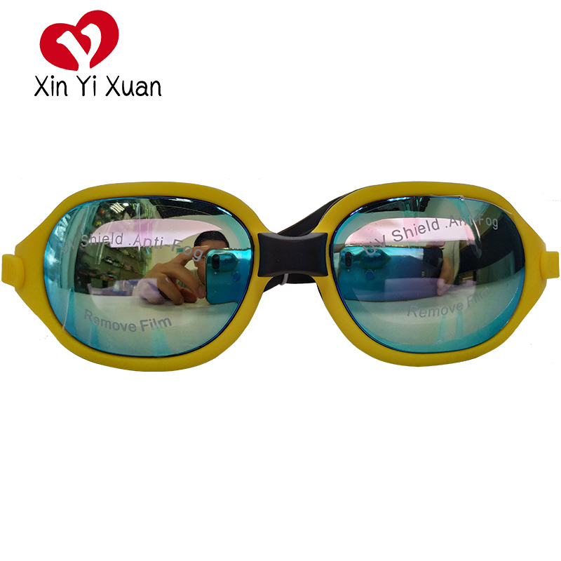 Adult Swimming Glasses Anti Fog Swim Goggles UV Protection Diopter Arena Optical Case Adjustable Big Size Glasses Men Women(China)