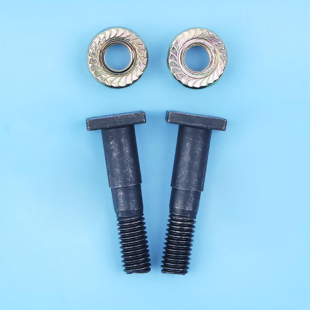 Bar Studs Collar Screws W/ Nuts Set For HUSQVARNA 61 66 181 266 268 272 272XP 281 288 362 365 371 372 394 3120 Chainsaw