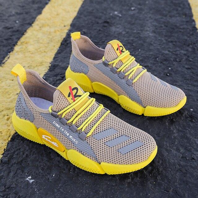 Zapatillas De correr ligeras para hombre, zapatillas transpirables ultraligeras De verano, Zapatos De Mujer para caminar, Zapato 4