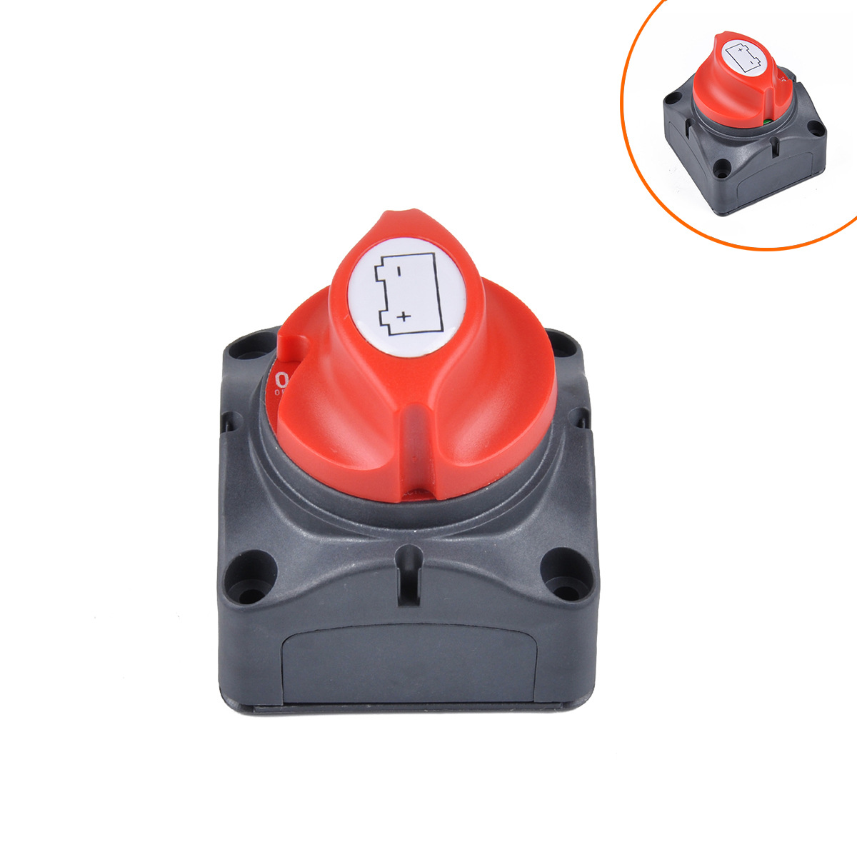 Car Battery Power-off Switch Yacht Truck Switch Large Current Breaker Switch Leak-Proof Electrical Switch