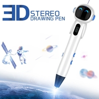 New 3D Pen RP500A DIY 3D Printing Pen Support ABS/PLA Filament 1.75mm Creative Toy Gift for Kids Design Drawing US Plug|3D Pens|Computer & Office -