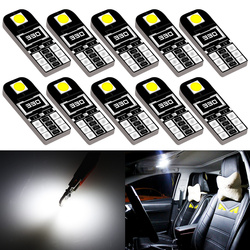 10x Car Interior Lights T10 LED W5W Canbus Bulb Car Led Light Car Reading Lights for Mazda cx-5 323 3 2010 2005 2015 6 2004 3 bl