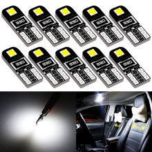 10x T10 W5W 194 168 Led Bulb Car Interior Light For Subaru Forester Legacy Impreza XV Outback BRZ sti GMC Fiat 500 Stilo 500L