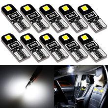 10x W5W Led Canbus Bulb Car Interior Lights T10 LED for BMW E46 E53 E90 E82 E60 X3 E83 E91 Touring X5 E70 X6 E71 E36 Coupe F25