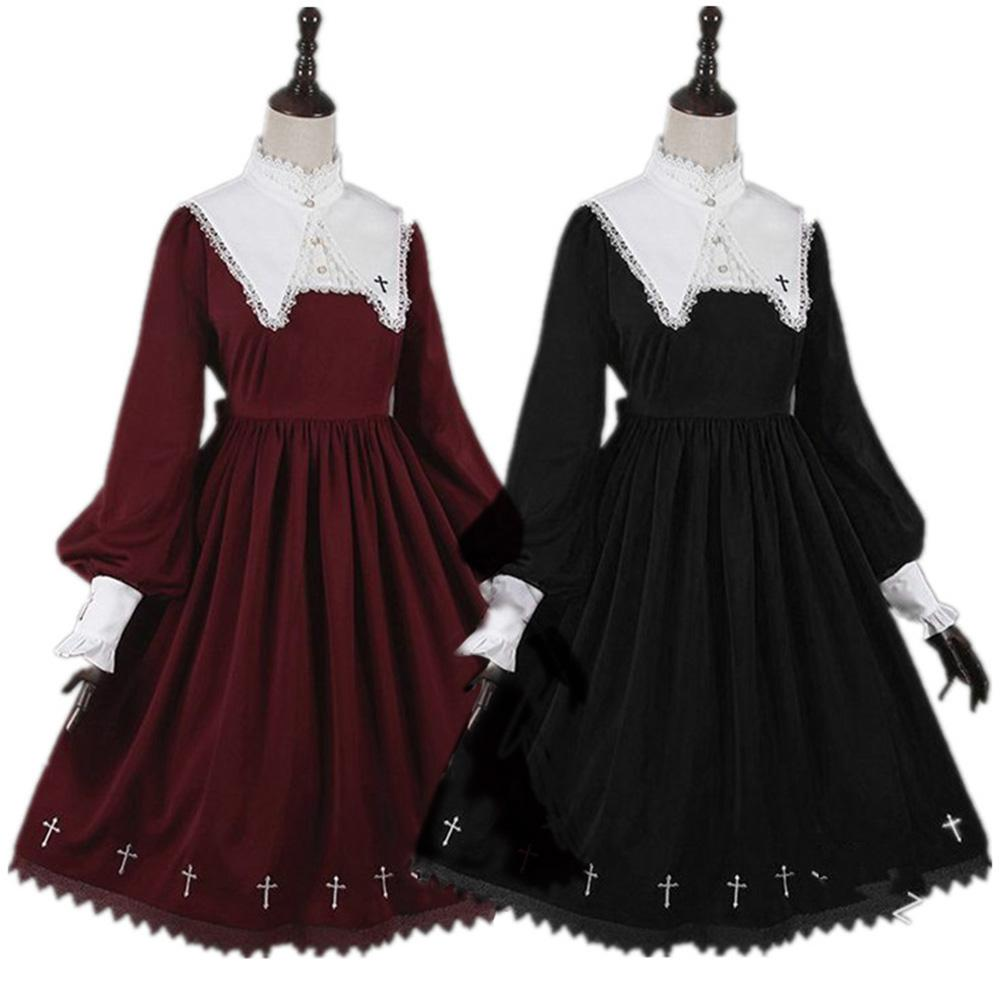 Dress Women Vintage Party Dresses Puff Sleeve Medieval Evening Party Dresses Dress Medieval Women Long Sleeve Party Banquet Maxi