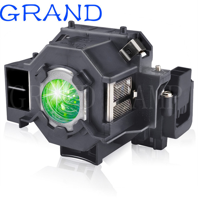 متوافق مع EMP S5 EMP S52 EMP T5 EMP X5 EMP X52 EMP S6 EMP X6 + مصباح بروجيكتور ELPLP41 V13H010L41 لإبسون
