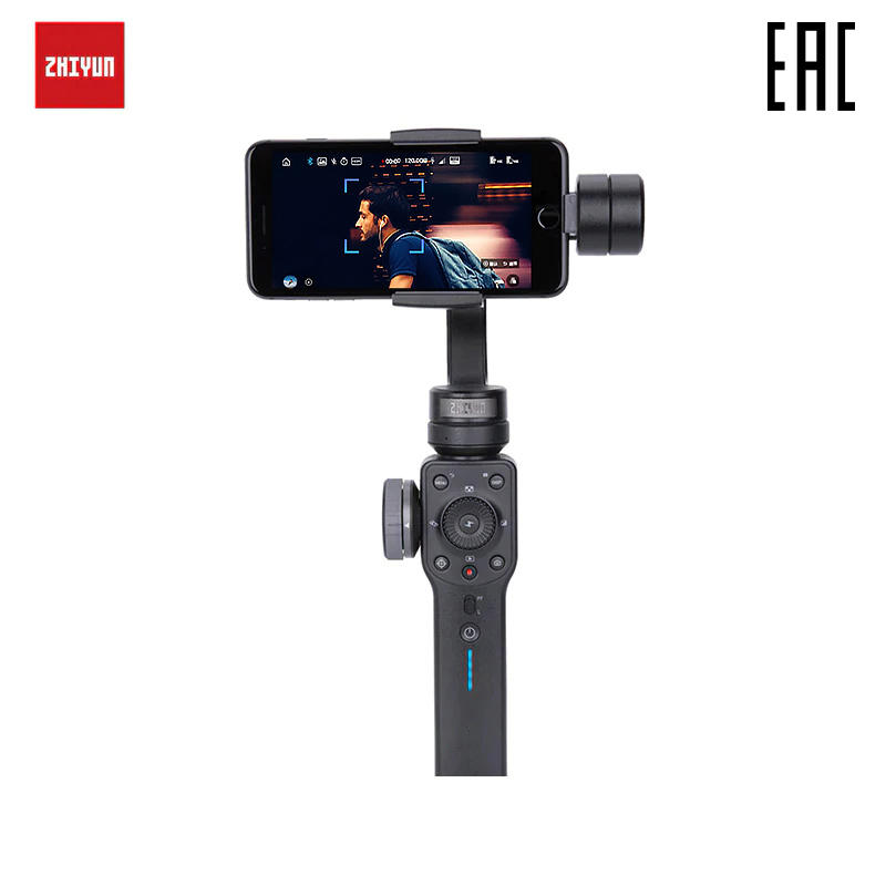Stabilisateur de poche pour smartphone Zhiyun lisse 4 (noir)