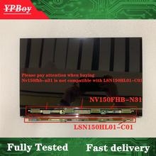 Панель дисплея для Samsung Notebook NP900X5L, NP900X5N, светодиодная ЖК-панель, 15 дюймов, экран FHD, стеклянная проекция, полностью протестировано 1920*1080