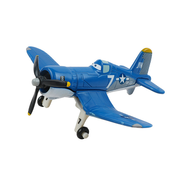 Original Disney Pixar cars 2 3 planes7 Dusty Strut Jetstream Metal Alloy Diecast Model Airplane Toys for Child Christmas Gift
