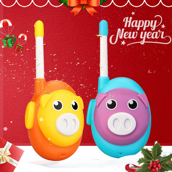 Retevis RB616 RB16 Walkie Talkie Childre 2pcs Cute 1 Channel Two Color Walkie-talkies Birthday New Year Gift  Toy - discount item  30% OFF Walkie Talkie