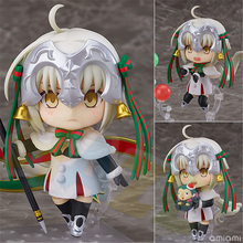 Fate/Grand Order FATE FGO Jeanne D'Arc Joan of Arc Figure Toy Model ColLectio n In Box 10cm fate grand order fgo anime saber mordred joan of arc frankenstein summer swimsuit rubber keychain