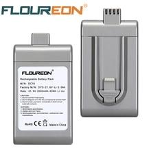 Floureon 21,6 V 2000mAh батарея для пылесоса для Dyson DC16 BP01 12097 литий-ионный аккумулятор Перезаряжаемые Батарея