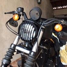 Алюминиевая решетка для передней фары мотоцикла с ЧПУ 575 дюйма