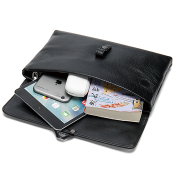 Men Brief Case Men Handbags Cow Leather Handbags  Business Bags Large Capacity Men Cross Body Bags Shoulder Bags Men Brief Case