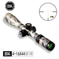 Bobcat King 4 16X44 SFIR Riflescopes Airsoft Hunting Rifle Scope Traffic Light Illumination Sniper Tactical Optical Sight