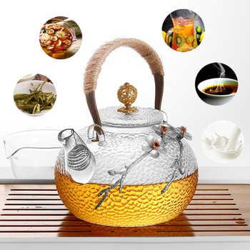 750/930ml Creativo Boutique Giapponese Addensare Resistente Al Calore di Tè di Vetro Vaso di Fiori A Casa Teiera Ufficio Bollitore Regalo Collezione