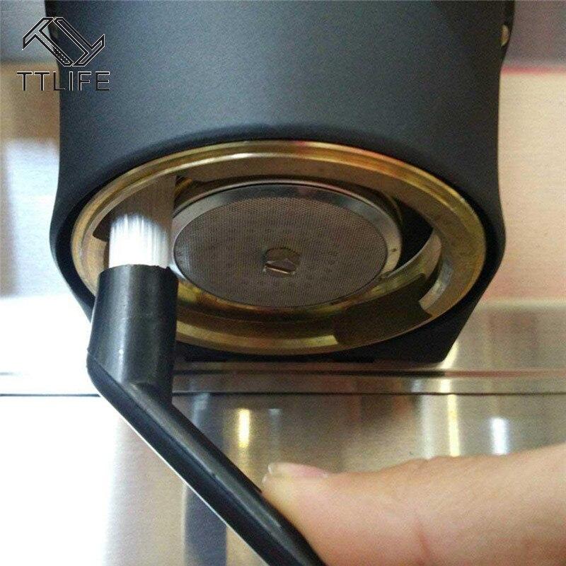 ماكينة القهوة تنظيف فرشاة القهوة ماكينة إسبريسو تنظيف فرشاة القهوة Grime تنظيف فرشاة مقبض بلاستيكي أدوات الأنظف|Grinder Brushes| - AliExpress
