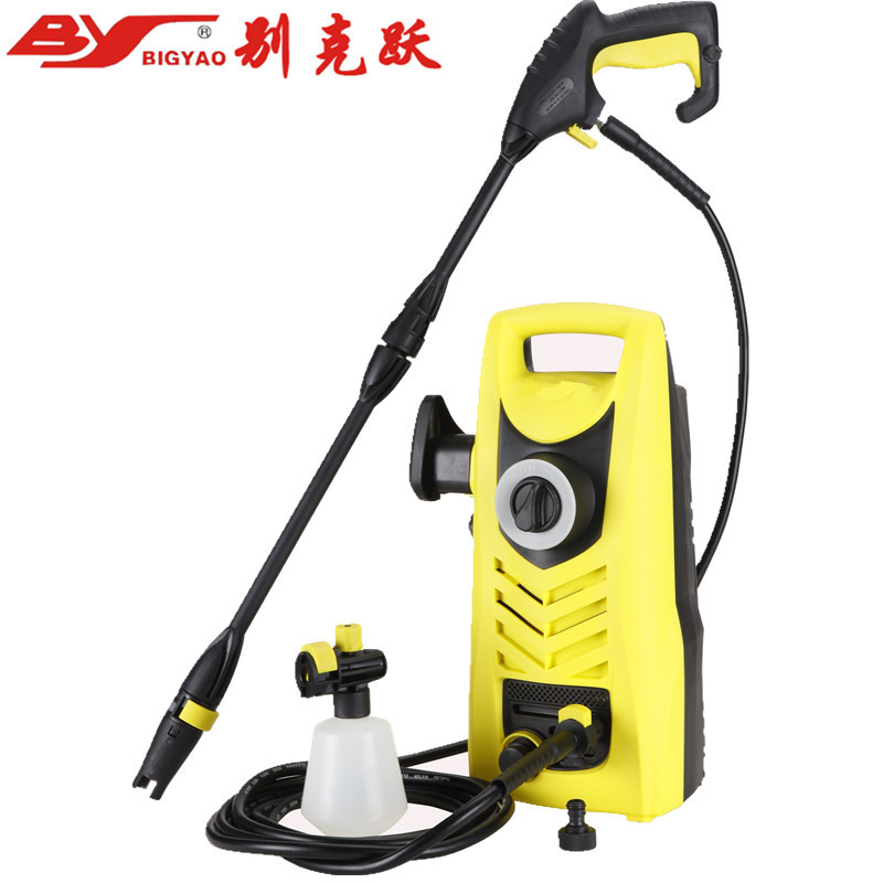 Household Car Wash Machine High Pressure Electric Car Washer Floor Garden Air Conditioner Cleaning Machine 220V 1.5KW 70bar 6L/m