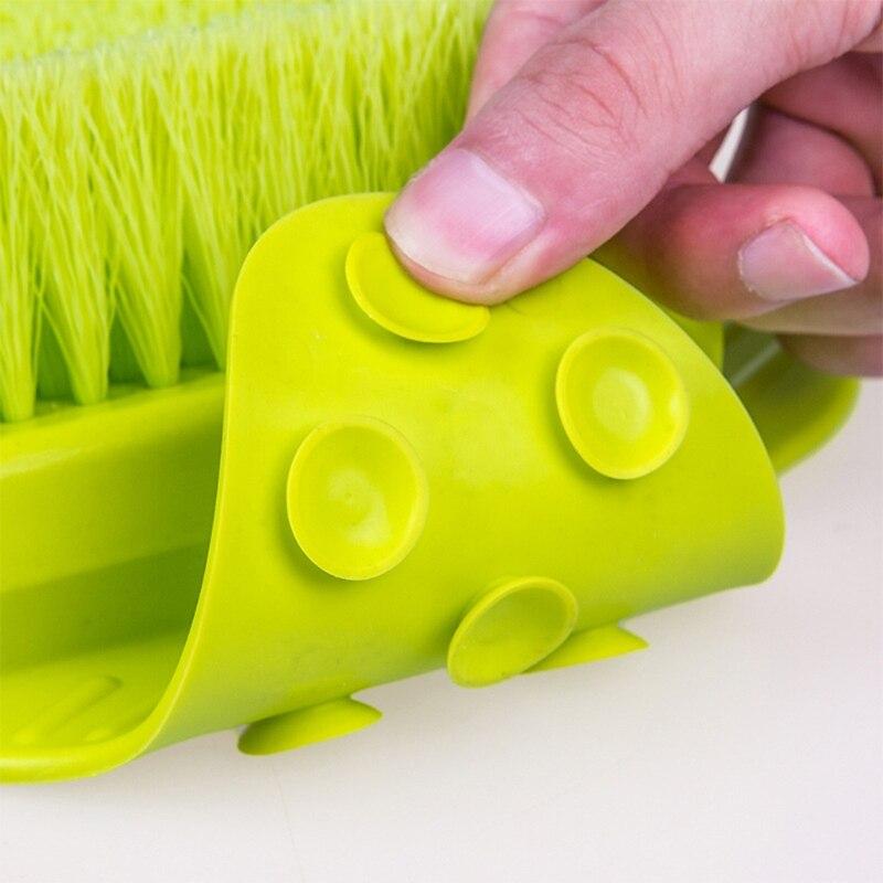 sapato de banho pes massagem chinelos escova 02