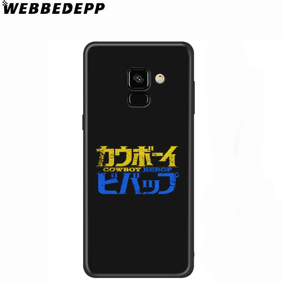 Kovboy Bebop Anime Yumuşak Samsung kılıfı Galaxy A10 A30 A40 A50 A60 A70 M10 M20 M30 M40 Samsung Not 8 için 9 10 artı