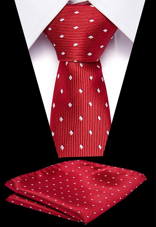 New Men Ties Set Extra Long Size 145cm*7.5 Cm Necktie Red Blue Paisley 100% Silk Jacquard Woven Neck Tie Suit Wedding Party