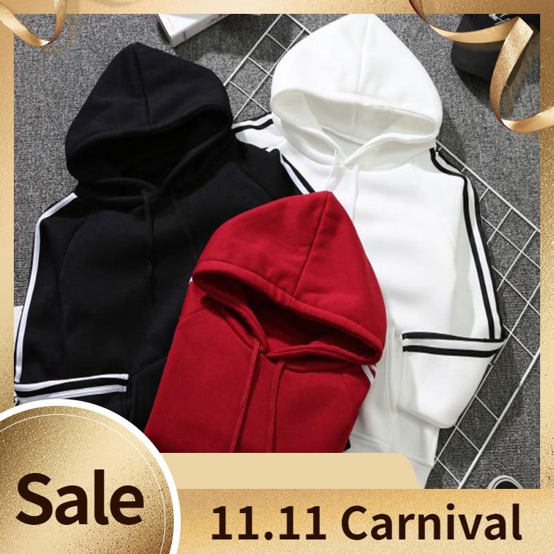 Women Sweatshirts Hoody Casual Long Sleeve Hooded Pullover  Hooded Female Jumper Women Tracksuits Sportswear Autumn Basic