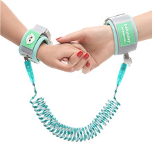 Advanced baby anti lost rope children's traction rope bracelet outdoor toddler children's anti lost rope reflective rope key