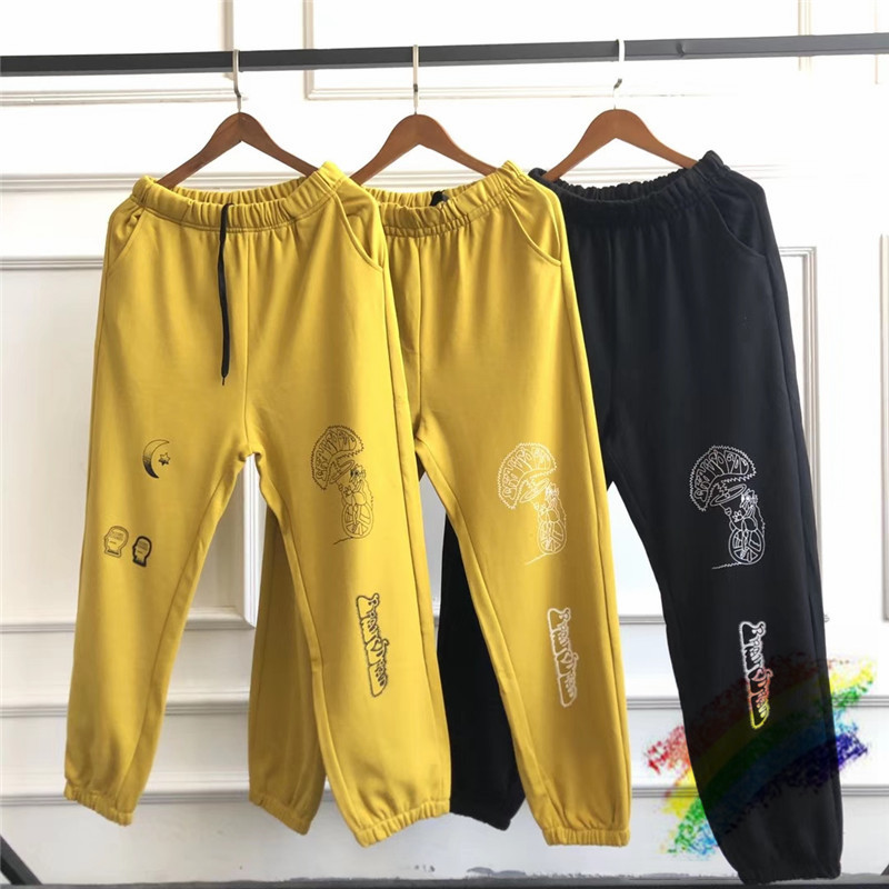 2020ss Brain Dead Gustavo Sweatpants Kanye West Casual Joggers Brain Dead Gustavo Trousers Pants