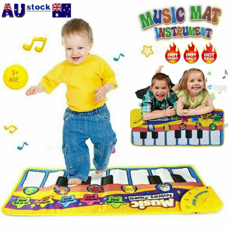 Pudcoco Kid Baby Kinder Musical Music Piano Play Mat Development Educational Soft Toy