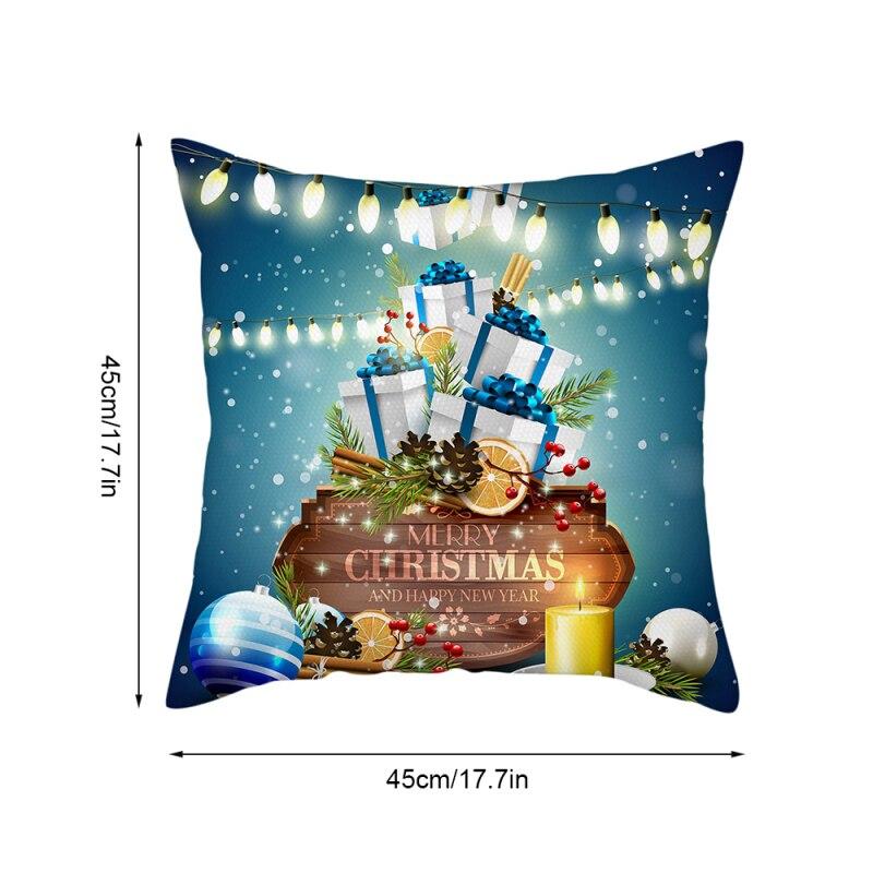 Купить nanacoba счастливого рождества для подушек с новый год наволочки
