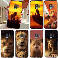Lion king Voor Samsung Galaxy S6 S7 Rand S8 S9 S10 Plus Lite Note 8 9 10 A30 A40 A50 a60 A70 M10 M20 pro telefoon Case Cover funda(China)