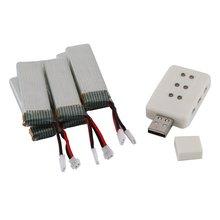 3.7V 520mAh 35c Rechargeable Battery Drone Lipo Battery RC Lithium Battery for WLtoys V977/V966/V930
