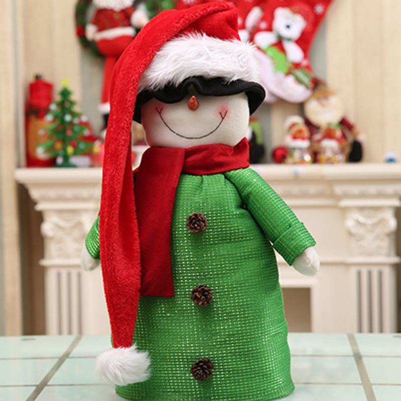 Christmas Santa Claus Hat Super Long Novelty Xmas Ornaments Holiday Party Decoration for Children and Adults in Christmas Hats from Home Garden