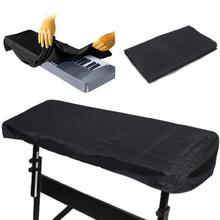 Black Piano Piano Keyboard Cleaning Cloth For 61-Key Electronic Piano Cover