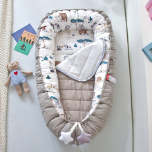 Bed-Crib Newborn Baby Cotton with Changing-Pad YHM057 Nest Sleeping-Cradle Portabel Travel