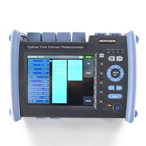 Image 5 - NOVKER NK6000 1310/1550/1625nm 38/35/35dB Multifunction Optic Fiber 1625 PON OTDR Tester With VFL OPM Light Source