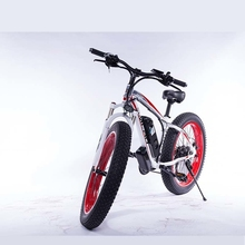 SMLROBest quality fat tire mountain electric bicycle 26 inch  Aluminum alloy Frame Lithium Battery 48V 10AH