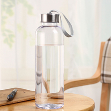 Outdoor Sports Portable Water Bottles Plastic Transparent Round Leakproof Travel Carrying for Water Bottle Drinkware sale 3 newoutdoor sports portable water bottles plastic transparent round leakproof travel carrying for water bottle drinkware sale