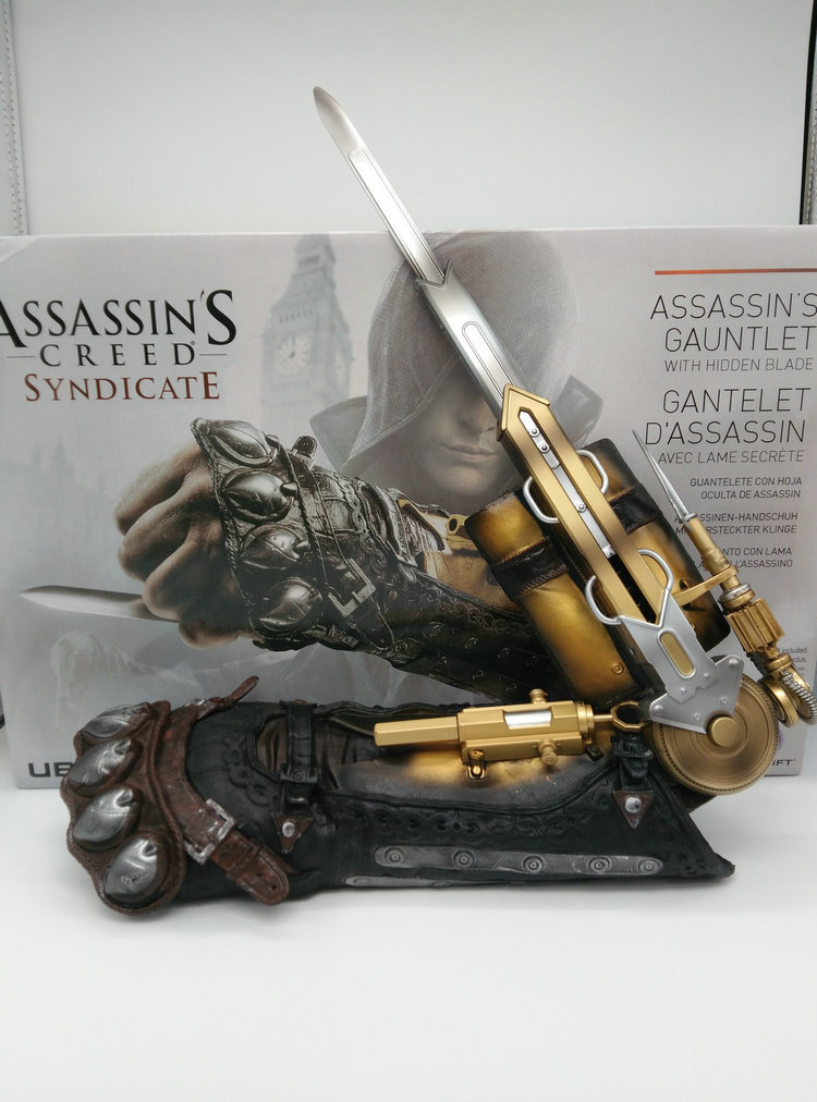 Assassin Creed 6 COSPLAY 1: 1 Wristband Matching Sleeve Arrow Sleeve Swordsman Model  Figure Collectible Model Toy Gift