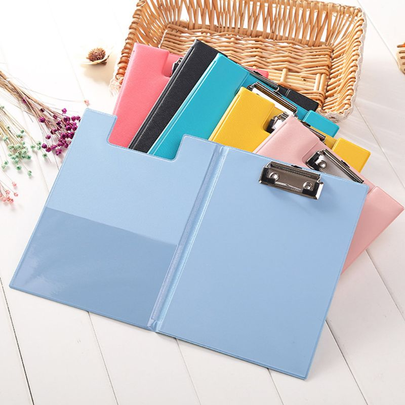 A5 Waterproof Clipboard Writing Pad File Folder Document School Favor Holde CL