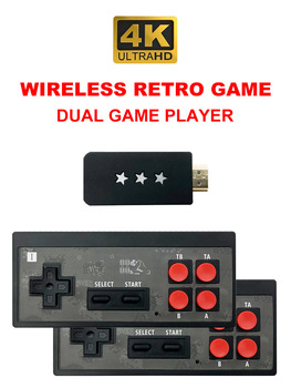 USB Wireless Handheld TV Video Game Console Classic Game 8 Bit Mini Video Console Support HDMI Output download game to TF card