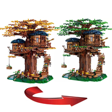 2019 New The Biggest Ideas Model Tree House Bricks Compatible Legoingly 21318 Building Blocks for Children Christmas Gift