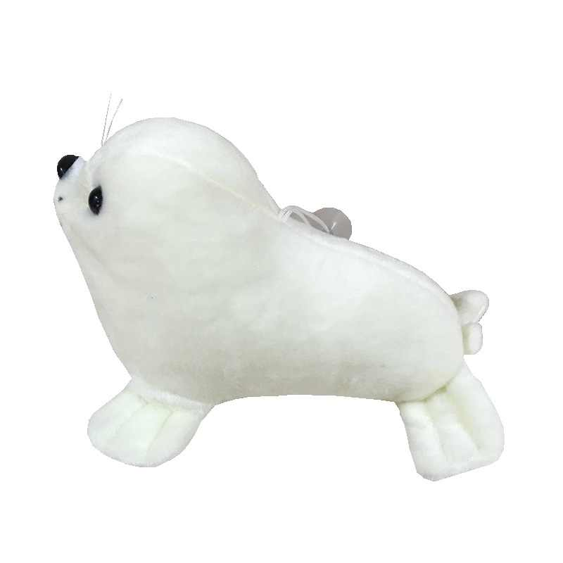 1 adet sevimli 25cm yumuşak deniz aslanı peluş oyuncaklar deniz dünya hayvan mühür peluş doldurulmuş bebek bebek uyku yastığı çocuk kız hediyeler