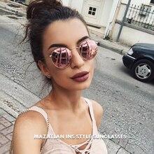 Mazatlan Retro Round Sunglasses Women 2019 Luxury Brand Desi