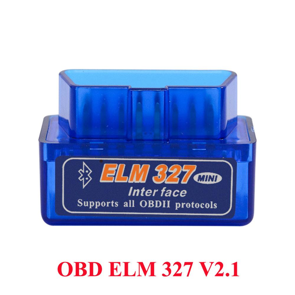 2020 <font><b>Mini</b></font> OBD2 <font><b>ELM327</b></font> Diagnose Auto Scanner ULME 327 <font><b>Bluetooth</b></font> <font><b>V2.1</b></font> OBD 2 Diagnose Scanner Für Auto OBD2 Code Reader image