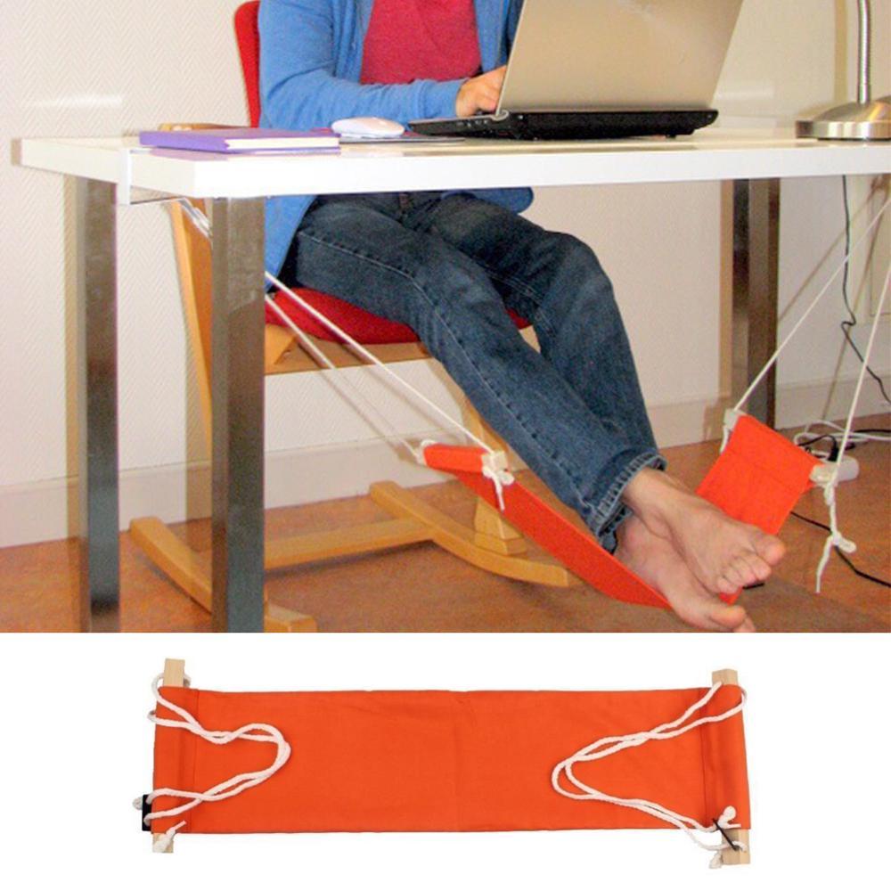 Desk Feet Hammock Foot Chair Care Tool The Foot Hammock Outdoor Rest Cot Portable Office Foot Hammock Mini Feet Rest